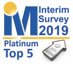 IIM Top 5 Platinum Logo